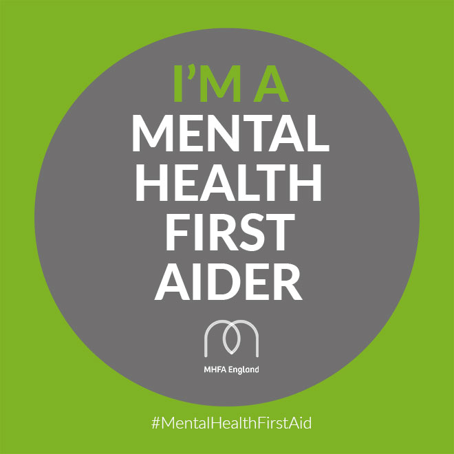 Malwina Credentials Mental Health First Aider